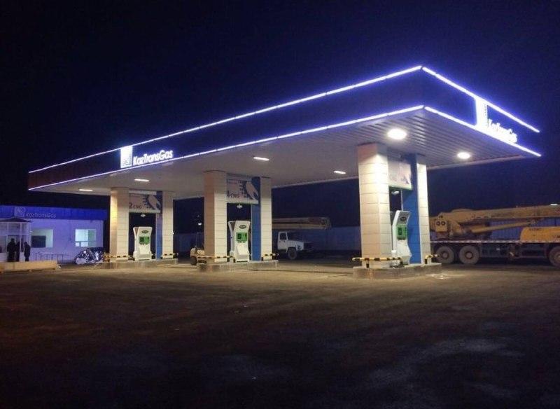 В городе Талдыкоран (Алматинская область, Казахстан 🇰🇿) построили новую АГНКС и закупили новые метановые автобусы.